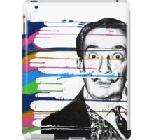 Dalí painter - graffiti w&b iPad Case/Skin