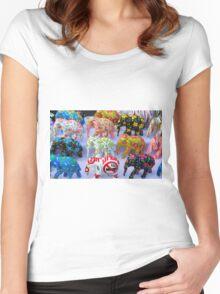 elephants Women's Fitted Scoop T-Shirt