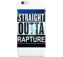 Straight Outta Rapture - Colour iPhone Case/Skin