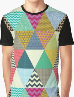 New York Beauty triangles Graphic T-Shirt