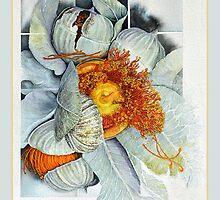Flowering Gum tote by Carol McLean-Carr