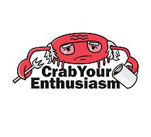 Crab Your Enthusiasm Photographic Print