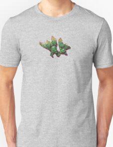 Puzzled stegosaurus Unisex T-Shirt