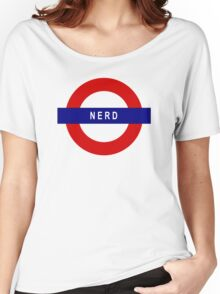 Nerd Women's Relaxed Fit T-Shirt
