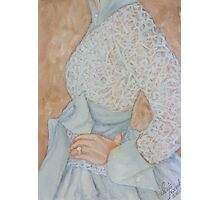 The Brides Dress Photographic Print
