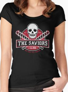 The Saviors Club Women's Fitted Scoop T-Shirt