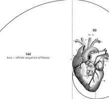 Fibonacci  Heart by Afonso Azevedo Neves