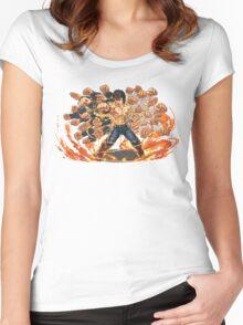 Kenshiro  Women's Fitted Scoop T-Shirt