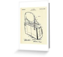 Creel or Trout Basket-1921 Greeting Card