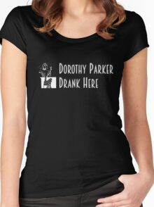 Gilmore Girls - Dorothy Parker Drank Here Women's Fitted Scoop T-Shirt