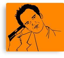 Quentin Tarantino Suicide Canvas Print