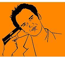 Quentin Tarantino Suicide Photographic Print