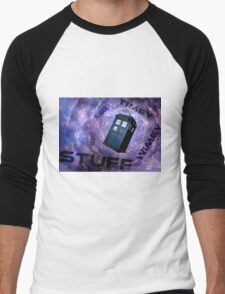 Timey Wimey Stuff Men's Baseball ¾ T-Shirt