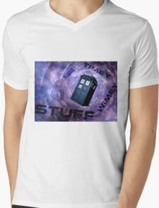 Timey Wimey Stuff Mens V-Neck T-Shirt