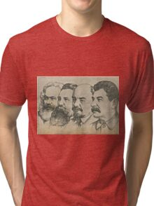 Marx to Stalin Tri-blend T-Shirt