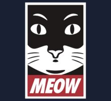 Obey Cat Meow Kids Tee