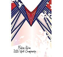 Madison Kocian 2015 World Championships Photographic Print