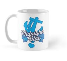 Midnight blue with blue anchor NAVY Mug