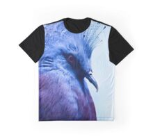 Victoria crowned pigeon Graphic T-Shirt