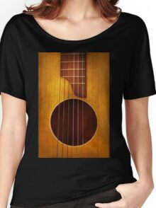 Instrument - String - Let's play some music  Women's Relaxed Fit T-Shirt