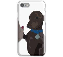Ralphie the High Fiving Weiner Dog iPhone Case/Skin