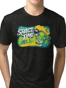 Space Time Adventure Time Tri-blend T-Shirt