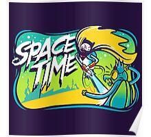Space Time Adventure Time Poster