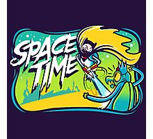 Space Time Adventure Time Photographic Print
