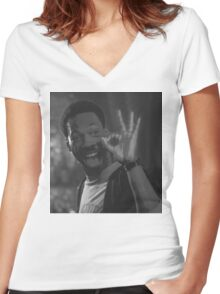 Eddie Murphy - Beverly Hills Cop Women's Fitted V-Neck T-Shirt