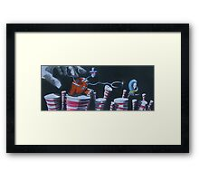 Catching the Catcher Framed Print