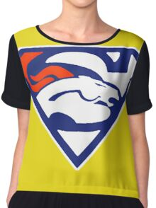 Super Denver Broncos Chiffon Top