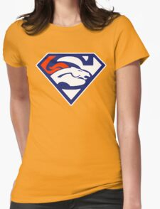 Super Denver Broncos Womens Fitted T-Shirt