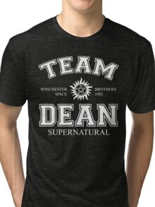 Supernatural Team Dean Tri-blend T-Shirt
