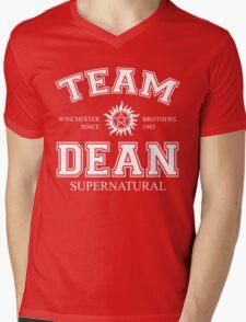 Supernatural Team Dean Mens V-Neck T-Shirt
