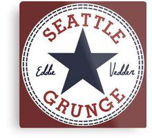 Seattle Grunge All Star Metal Print