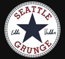 Seattle Grunge All Star Kids Tee
