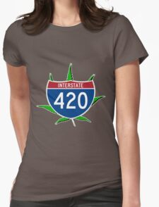 420 Interstate Womens Fitted T-Shirt