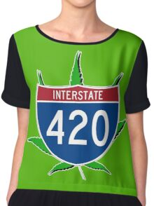 420 Interstate Chiffon Top