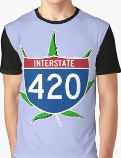 420 Interstate Graphic T-Shirt