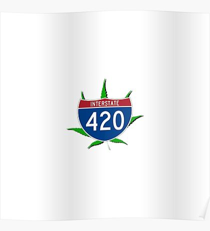 420 Interstate Poster