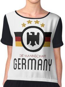 GERMANY JERSEY Chiffon Top