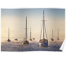 Day break - Corio Bay Geelong Poster