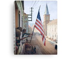 Captain Thomas H. Garahan, 'Easy' Company - France. Canvas Print