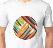 Striking Diagonal lines Unisex T-Shirt