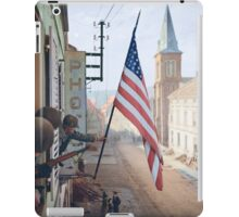 Captain Thomas H. Garahan, 'Easy' Company - France. iPad Case/Skin