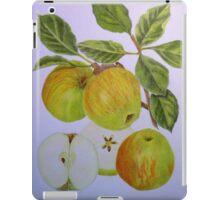 James Grieve Apple iPad Case/Skin