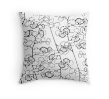Maidenhair Voyage Throw Pillow