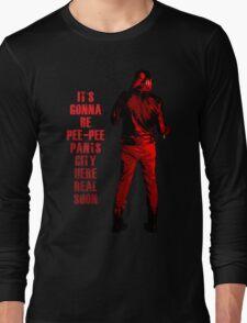 Next stop: Pee-Pee Pants City Long Sleeve T-Shirt