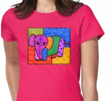 Elephantastic reloaded Womens Fitted T-Shirt
