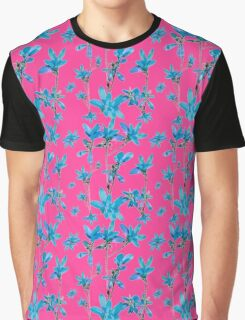 Floral Collage Revival Graphic T-Shirt